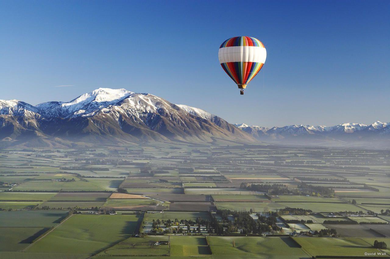 NZ Air Travel - Canterbury Plains