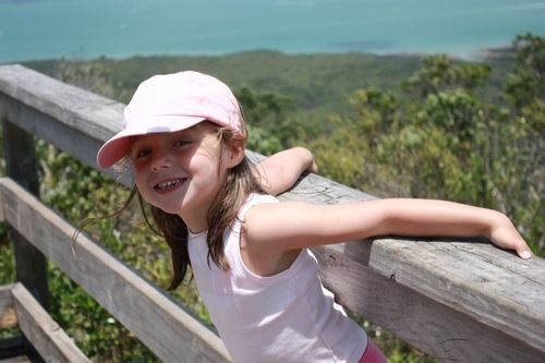 Walking with kids in NZ
