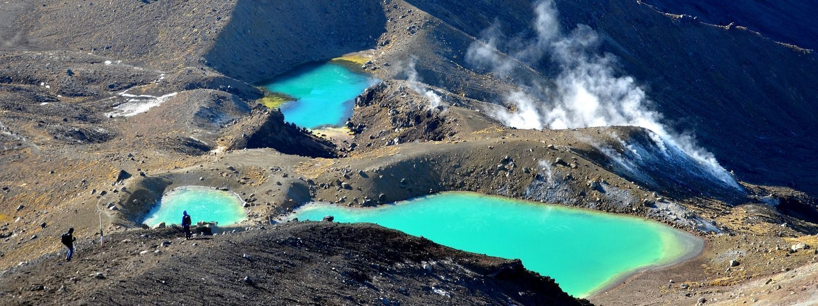 green pools tongariro | New Zealand